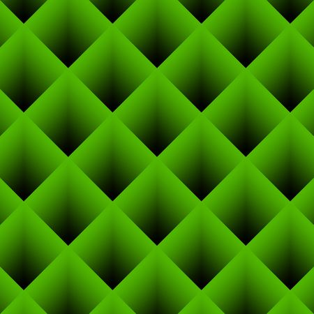 Abstract background image of green diagonal stripes in square frame Stock Photo - 6814468
