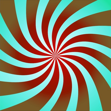 twisty: Funky abstract purple background illustration of twisty stripes with a radial gradient.