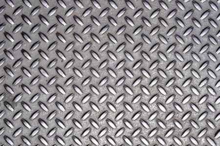 Een grunge achtergrond textuur van glanzend metaal.