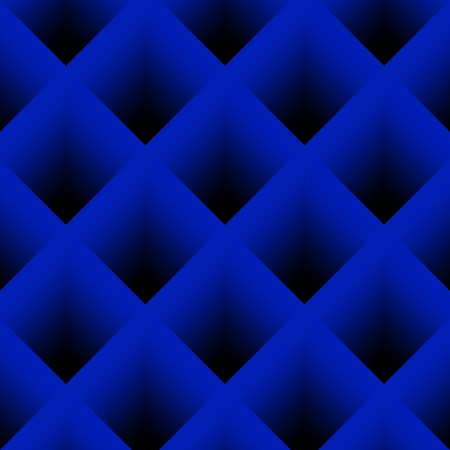 diagonal stripes: Abstract background image of blue diagonal stripes in square frame Stock Photo