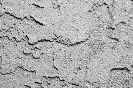 White painted wall texture. Rough rocky cement. Stock Photo - 7850387