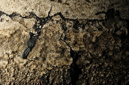 Grungy cement and paint texture with harsh side lighting Stock Photo - 8307507