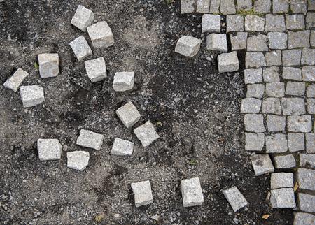 Falling Apart into Pieces Stock Photo