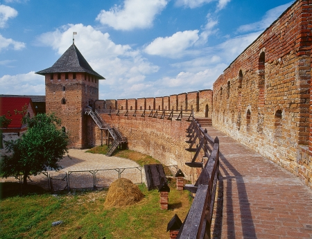 The Lutsk (or Lubart's) Castle in Lutsk, Ukraine