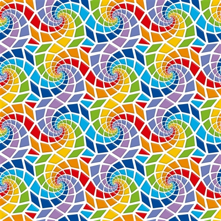 Mosaic seamless pattern Stock Photo - 19115527