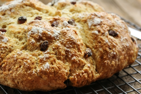 bread soda: Irish Soda bread  Saint  St Patrick day food