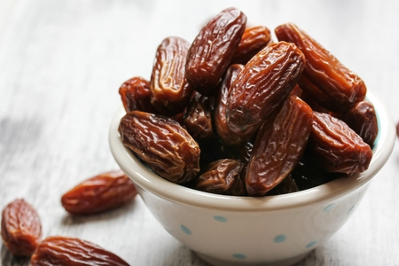 date fruit: Dried Date fruit healthy snack Stock Photo