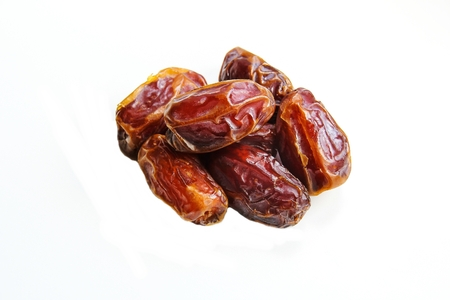 Dried Date fruit healthy snack Stock Photo