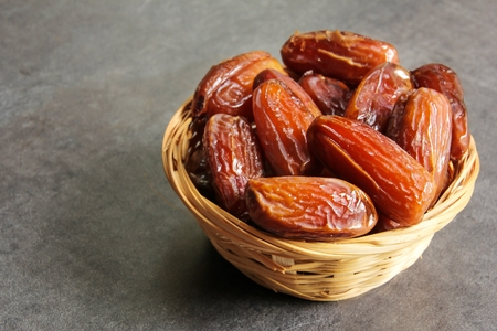 Dried Date fruit healthy snack Banque d'images