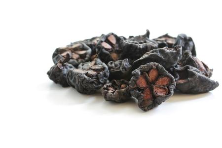 Dried Kokum Isolated on white