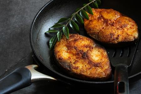 Pan Roasted King fish Mackerel