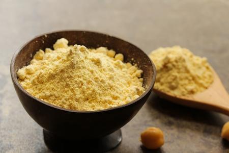 グルテン フリー ヒヨコ豆の粉 写真素材