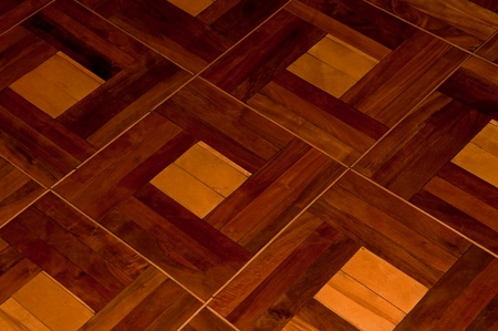 Beautiful wood parquette in the room (texture) Stock Photo - 8660999