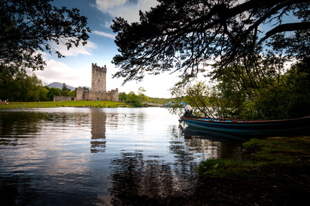 co  kerry: Ross Castle, Killarney, Co. Kerry Editorial