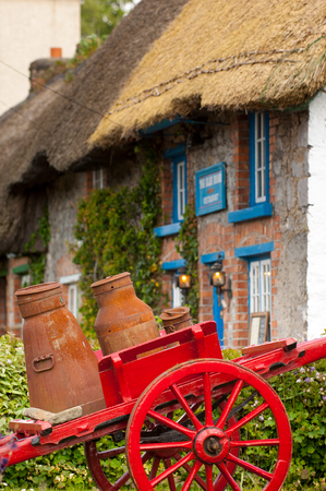 Picturesque Village of Adare, Co. Limerick Stock Photo