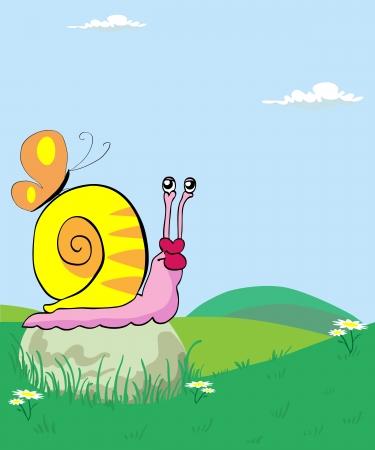 Snail Stock Vector - 14684880
