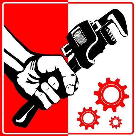 Wrench - Repair Shop Stock Vector - 14777165