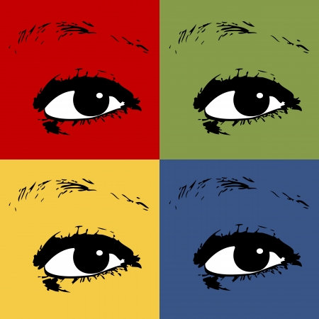 Eyes. Make-up vector Stock Vector - 15206999