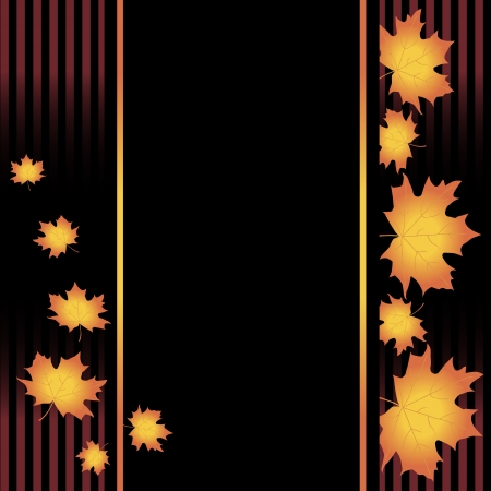 Vector of autumn colorful leaves   Vector