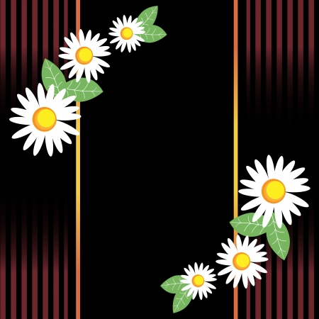 Seamless spring chamomile Stock Vector - 14985012