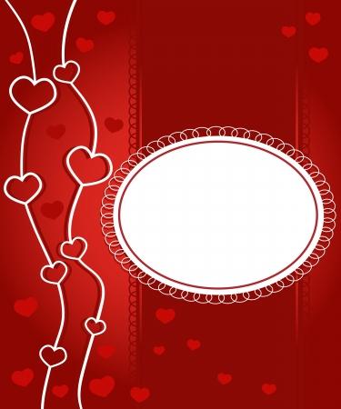 illustration of elegant romantic Valentine Stock Vector - 15548792