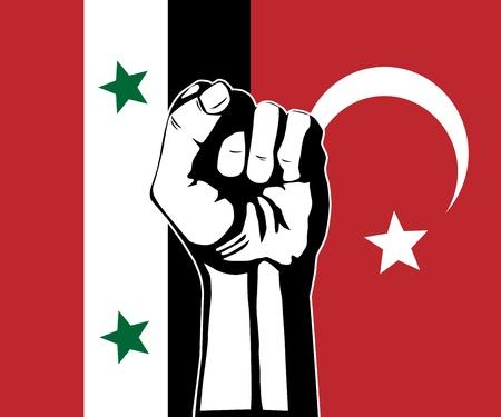 konflikt: Konflikt między Syrią i Turcją