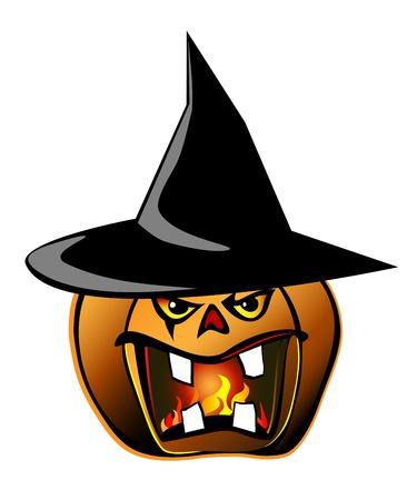 Halloween pumpkin Stock Vector - 15804866