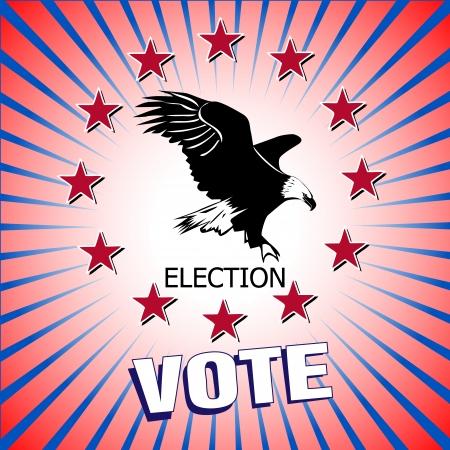 pealing: Vote election Vector illustration Illustration