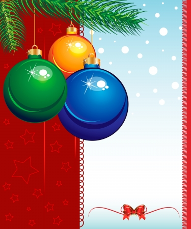 Merry Christmas elegant suggestive background for greetings card Stock Vector - 16464631