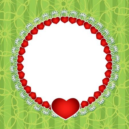Romantic Valentine Stock Vector - 17195393