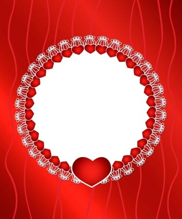 illustration of elegant, stylish, romantic Valentine Stock Vector - 17195391