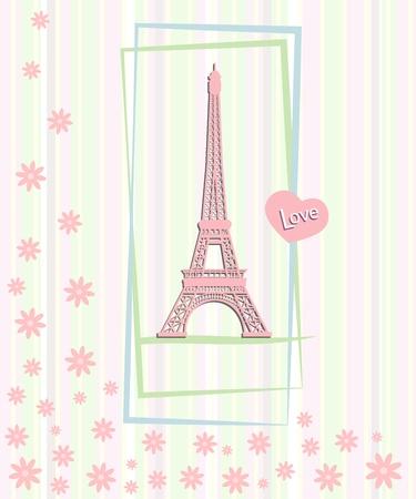 Card voor een verklaring van liefde.