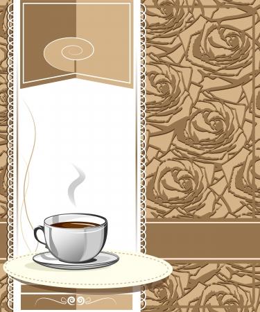 Menu for cafe, bar, restaurant, coffeehouse