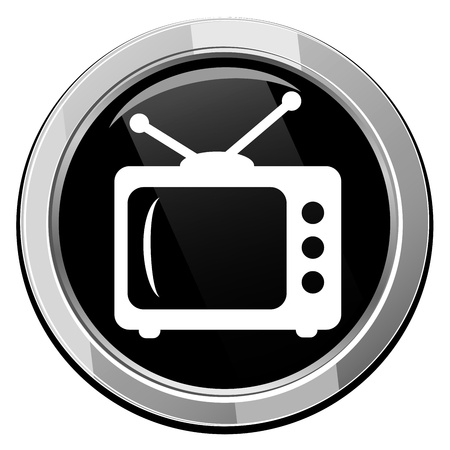 TV vector icon Stock Vector - 21297115