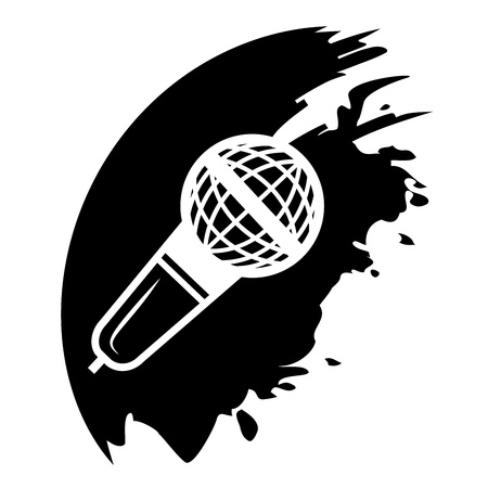 Microphone Vector icon isolated Vector