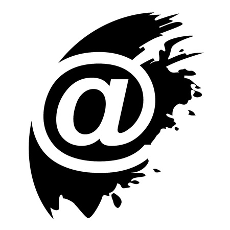 Email symbol - Vector icon isolated Stock Vector - 21535364