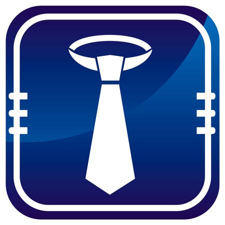 dresscode: Necktie -  on blue button