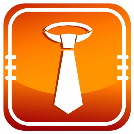 Mens Business Tie Icon