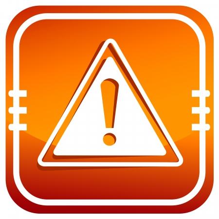 Gevaar waarschuwingsbord. Stockfoto - 25179825