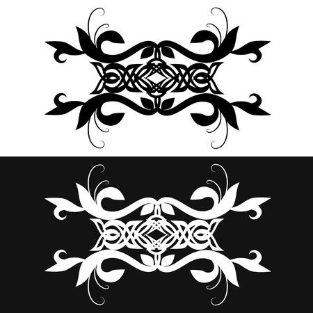 armband: Elementi d'epoca per la progettazione. Tribal bracciale Tattoo Vettoriali