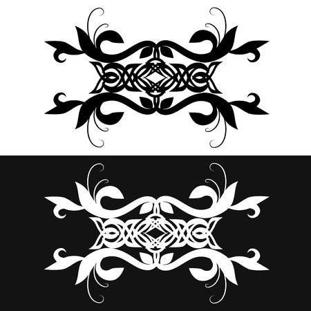 armband: Vintage elements for your design. Tribal Tattoo armband