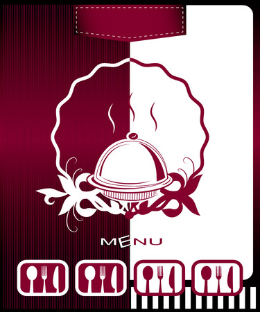 Vector restaurant card menu design Vector