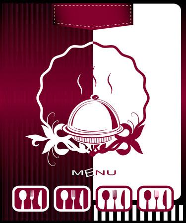 Vector restaurant card menu design Vector