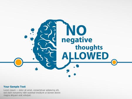 motivation: Inspirational motivational quote on brain background
