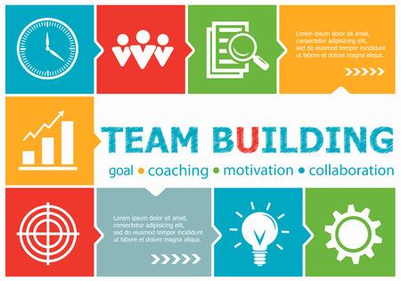smart goals: Teamwork design illustration concepts for business, consulting, management, career. Teamwork concepts for web banner and printed materials. Illustration