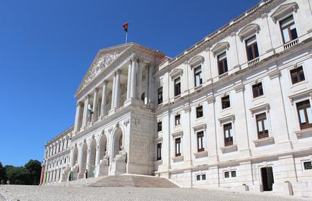 law of portugal: Portuguese Parliament Building, Lisbon, Portugal