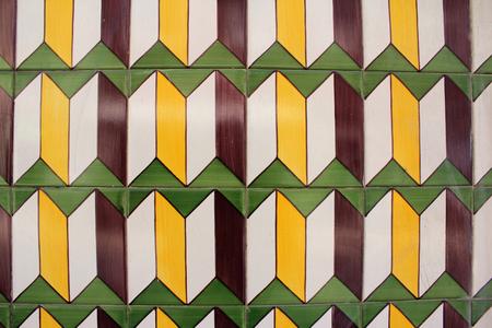Typical City Tiles, Azulejos, Lisbon Banque d'images