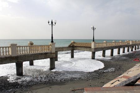 Tsunami Disaster Zdjęcie Seryjne - 81404284