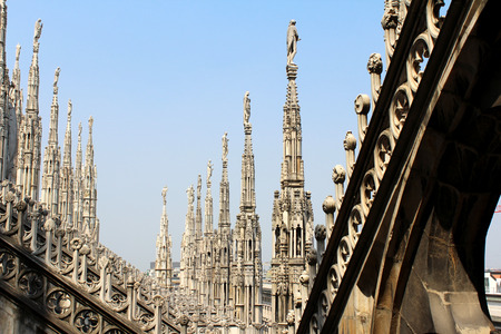 nascent: Cathedral of Milan, Duomo of Milan, La Madonnina Italy