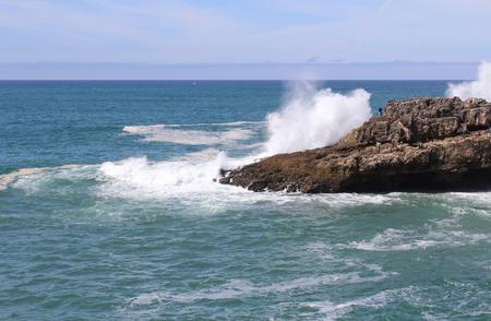 windsurf: Cliff and Big Waves, Cascais